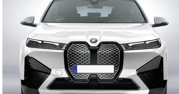 前脸设计个性,全新宝马X2纯电动版渲染图曝光