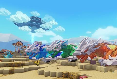 Steam生存游戏推荐,《方块方舟》魔法世界也遵循食物链法则