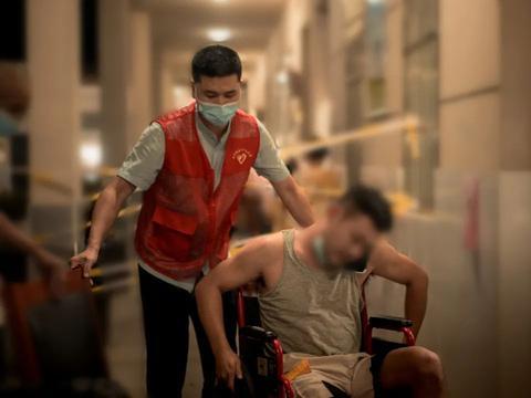 """南京永宁街道:镜头下疫情防控一线的""""永宁脸谱"""""""