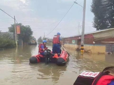 秦皇岛市红十字蓝天救援队在行动