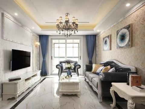 法式新古典的装修设计,时尚和复古并存,将实用和优雅完美融合