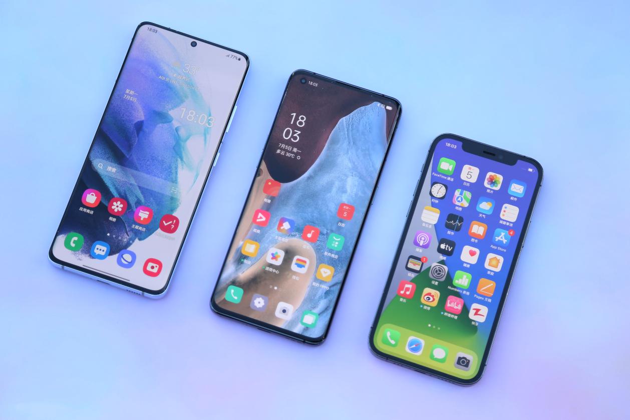 """""""吃鸡""""手机测试:Find X3 Pro无解表现,力压苹果三星旗舰当选"""