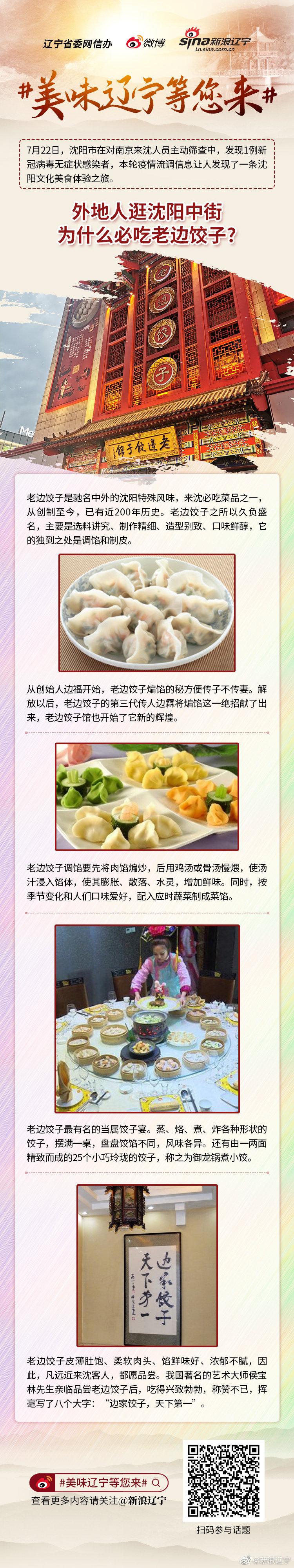 美味辽宁等您来 外地人逛沈阳中街为什么必吃老边饺子?