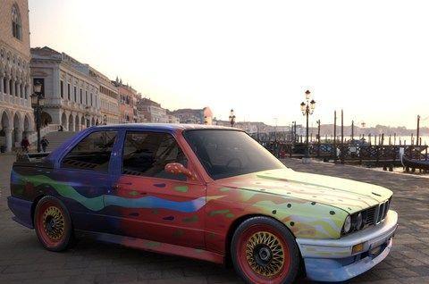 庆祝宝马集团文化交流50周年 宝马举行艺术车线上展览