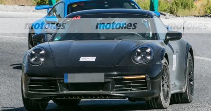 保时捷911特别版谍照曝光!通过能力大幅提升,或搭3.0T引擎