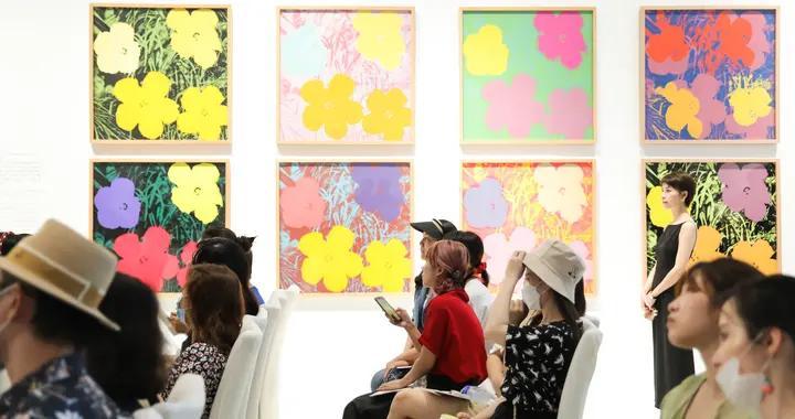 """厦门仧美术舘2021年度波普大展""""Art for All—安迪·沃霍尔""""开幕"""