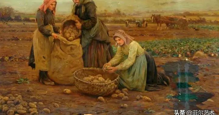 英国画家希金斯·里格的油画艺术作品欣赏