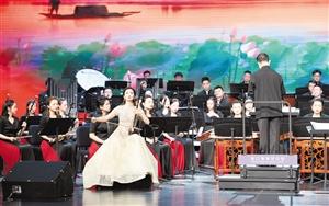 海口湾演艺中心举行 主题胡琴独奏音乐会