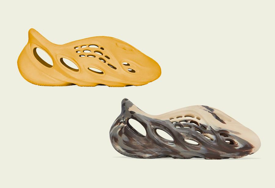 两款全新 Yeezy 洞洞鞋 8 月发售!建议搭配丝袜头套上脚!