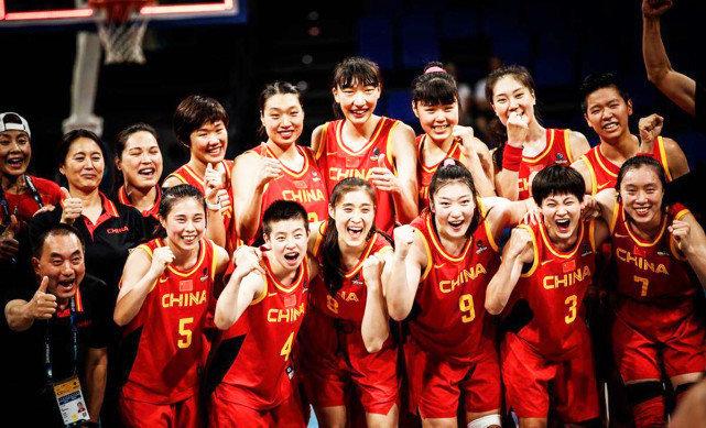 奥运女篮中国第一场比赛,目前第二节53:26领先波多黎各!!!