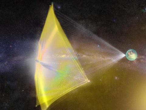 人类突破太阳系的日子不远了?新材料助飞太阳帆,飞到火星仅20天