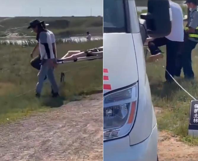 《吉星高照》剧组疑打人!男子持硬物重击女生,粉丝被抬上救护车