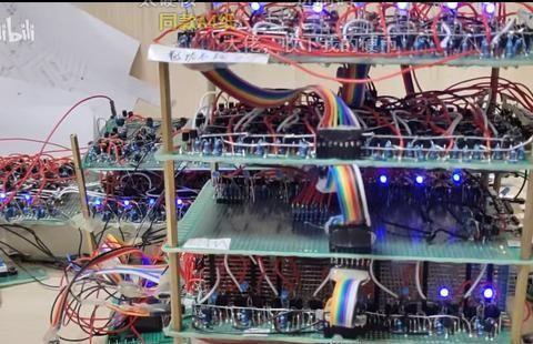 硬核up主纯手工自制CPU,从0到1了解底层逻辑