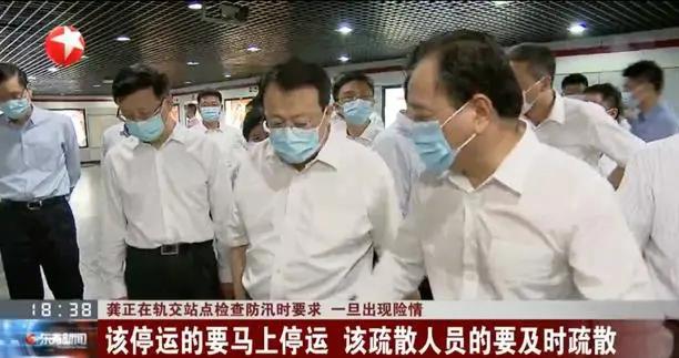 和总理连线当天,河南省省长带郑州市委书记去了地铁5号线