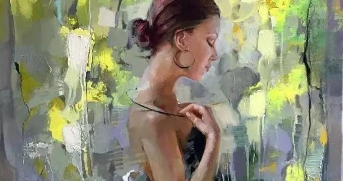 乌克兰女画家艾琳·谢里的人物油画艺术作品赏析