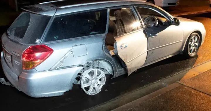 奥克兰5少年飞车撞店抢劫!还有7人凌晨偷车飙高速