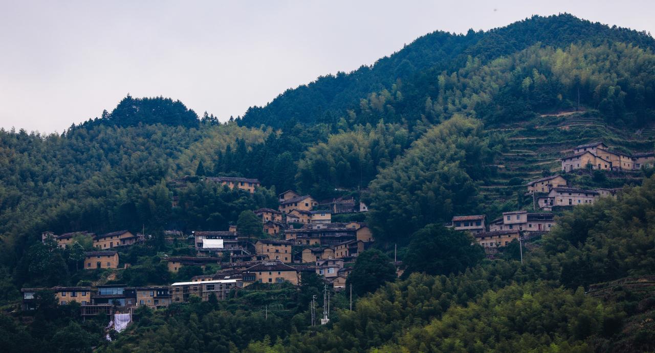 摄影师驾到丨藏在山中的古村