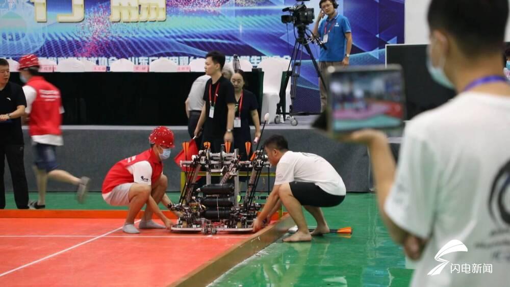 83所高校 116支队伍 2000余人参赛 第二十届全国大学生机器人大赛28日开幕
