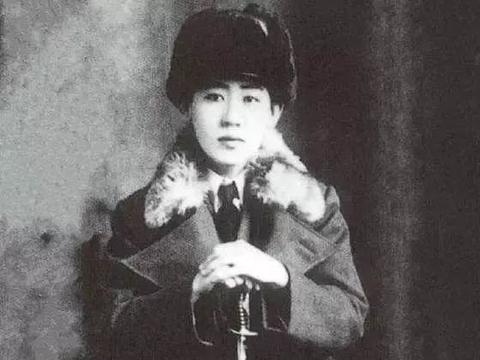 川岛芳子原创《蒙古姑娘》的唱片