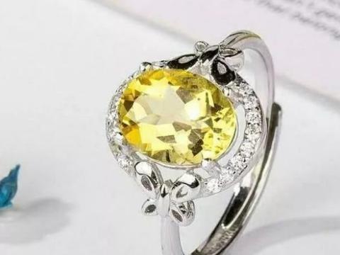 心理学:第一眼哪个黄水晶戒指更适合你?测你2022即将迎来的喜事