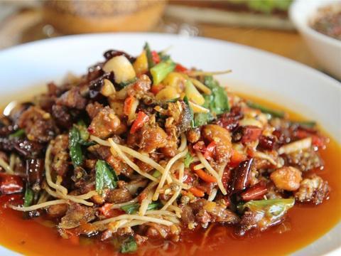 教你营养好吃的鸡肉炒木瓜,简单易学又美味下饭,家里人特喜欢