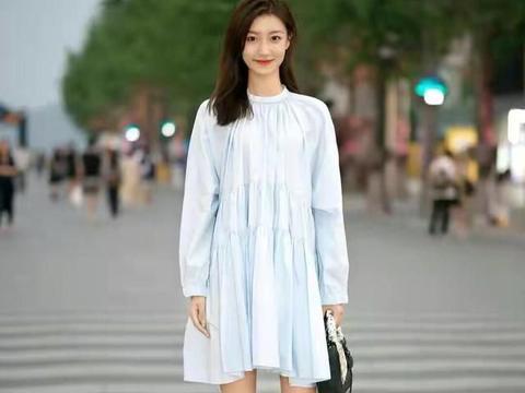连衣裙好看又时尚,6组穿搭look,让你美得清新又减龄