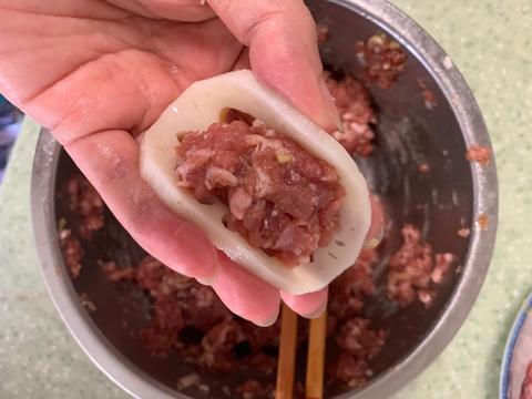 好吃爽口的藕夹肉,夏季的时候吃,营养均衡又可口