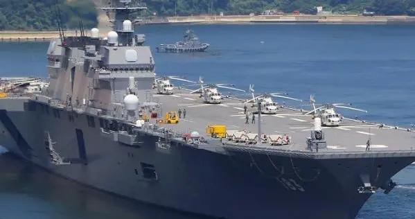 """日本出云号进行""""航母化""""改造 日媒:意在牵制中国"""