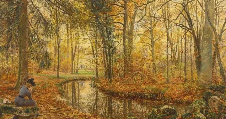 法国学术派画家菲尔米纳·吉拉德的油画艺术作品赏析