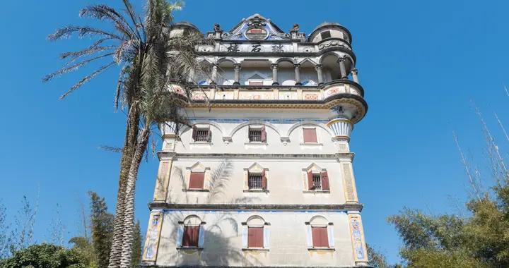 世界文化遗产开平碉楼,最华丽的一座碉楼在这里,不对外开放