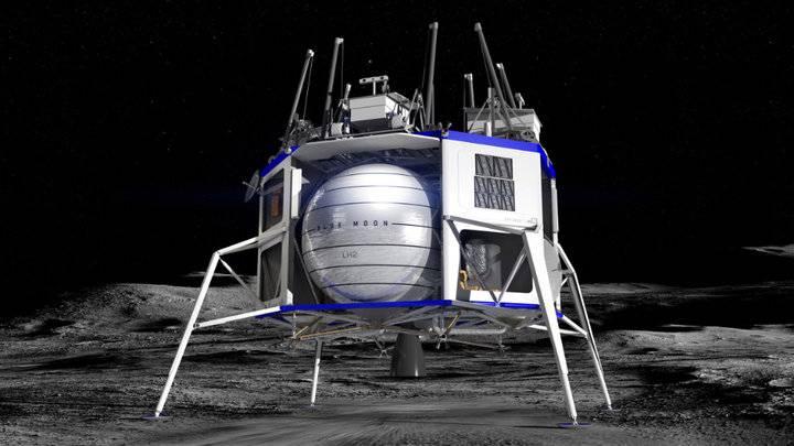 """为换月球着陆器合同,贝索斯愿给NASA""""免单""""20亿美元"""