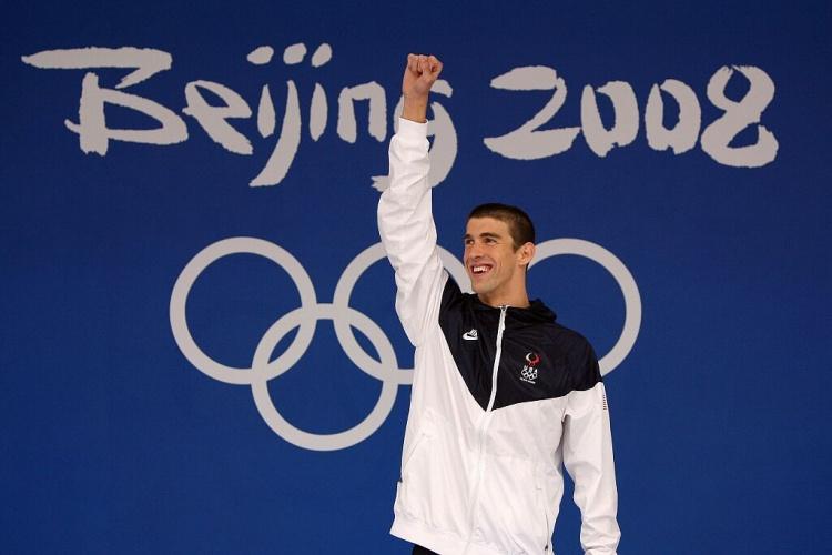 菲尔普斯:孙杨绝对能重返奥运 总有人会超越我的纪录