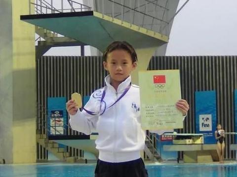 05后跳水冠军陈芋汐:3岁看北京奥运比赛时立志,目标是吴敏霞