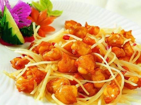 美食推荐:XO酱土豆鸡软骨、黄蚬子炖茄子、山楂树之恋制作方法