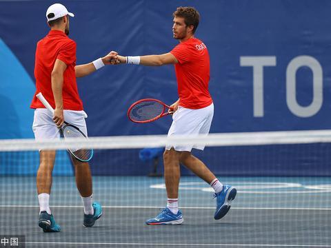 网球男双克罗地亚揽金银 本西奇双线争金希腊混双出局