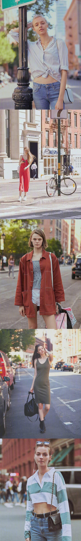 纽约街拍   自信大方的漂亮姑娘们