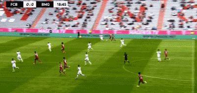 友谊赛:拜仁0-2门兴,齐尔克泽失良机,格纳布里进球被吹