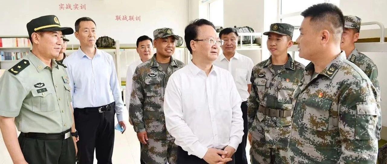 景俊海到陆军第78集团军65370部队72分队走访慰问
