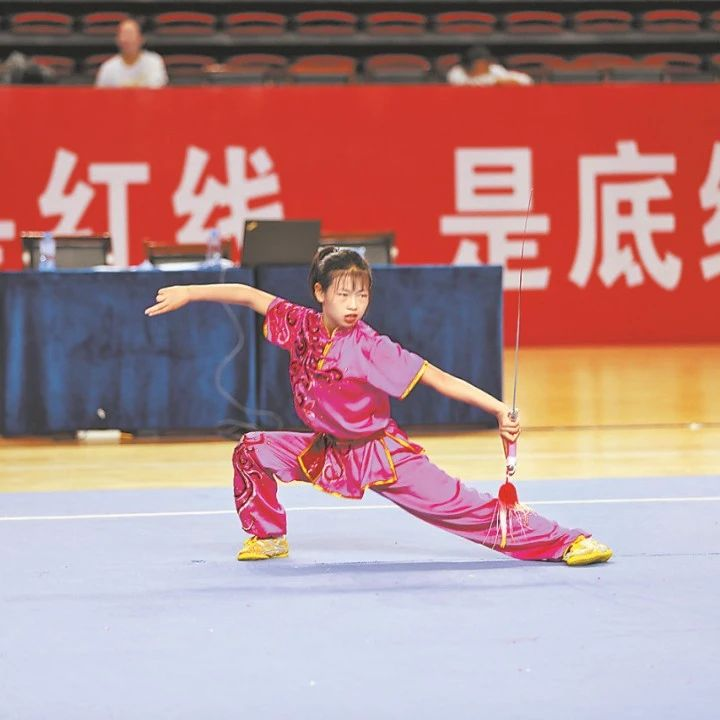 2021年陕西省 青少年武术套路锦标赛圆满收官