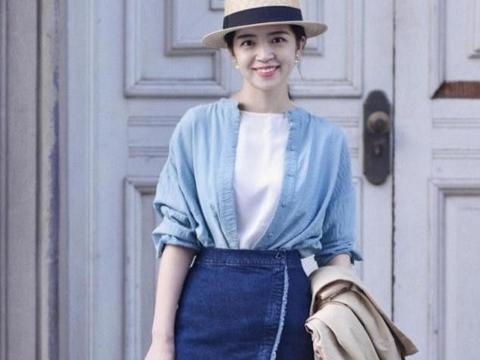 三木博主太适合半身裙了,穿在她身上尽显优雅大气,美出天际