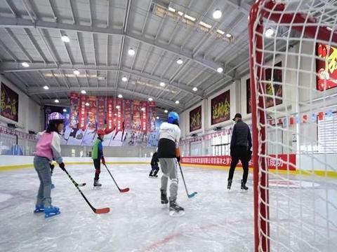 张家口市县区滑冰馆启动仪式邀请你来观看!
