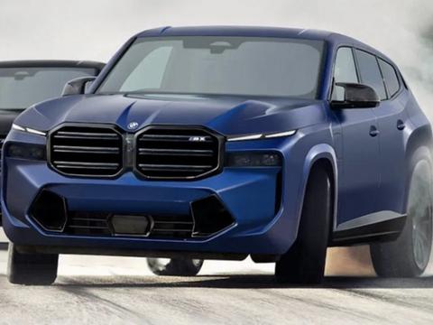 预计2022年发布/家族最贵SUV,宝马X8M渲染图曝光