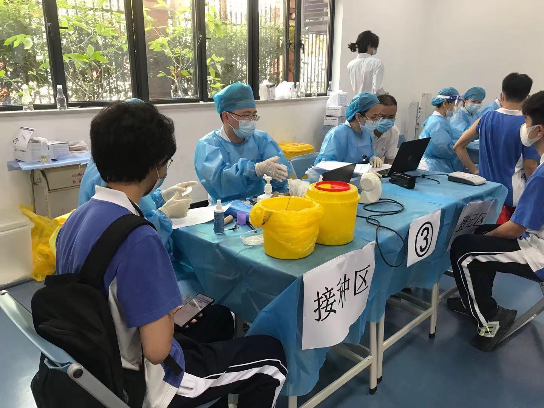 深圳开启青少年人群新冠疫苗接种学生专场