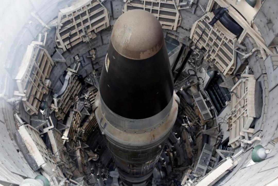 发射井中的美军洲际导弹