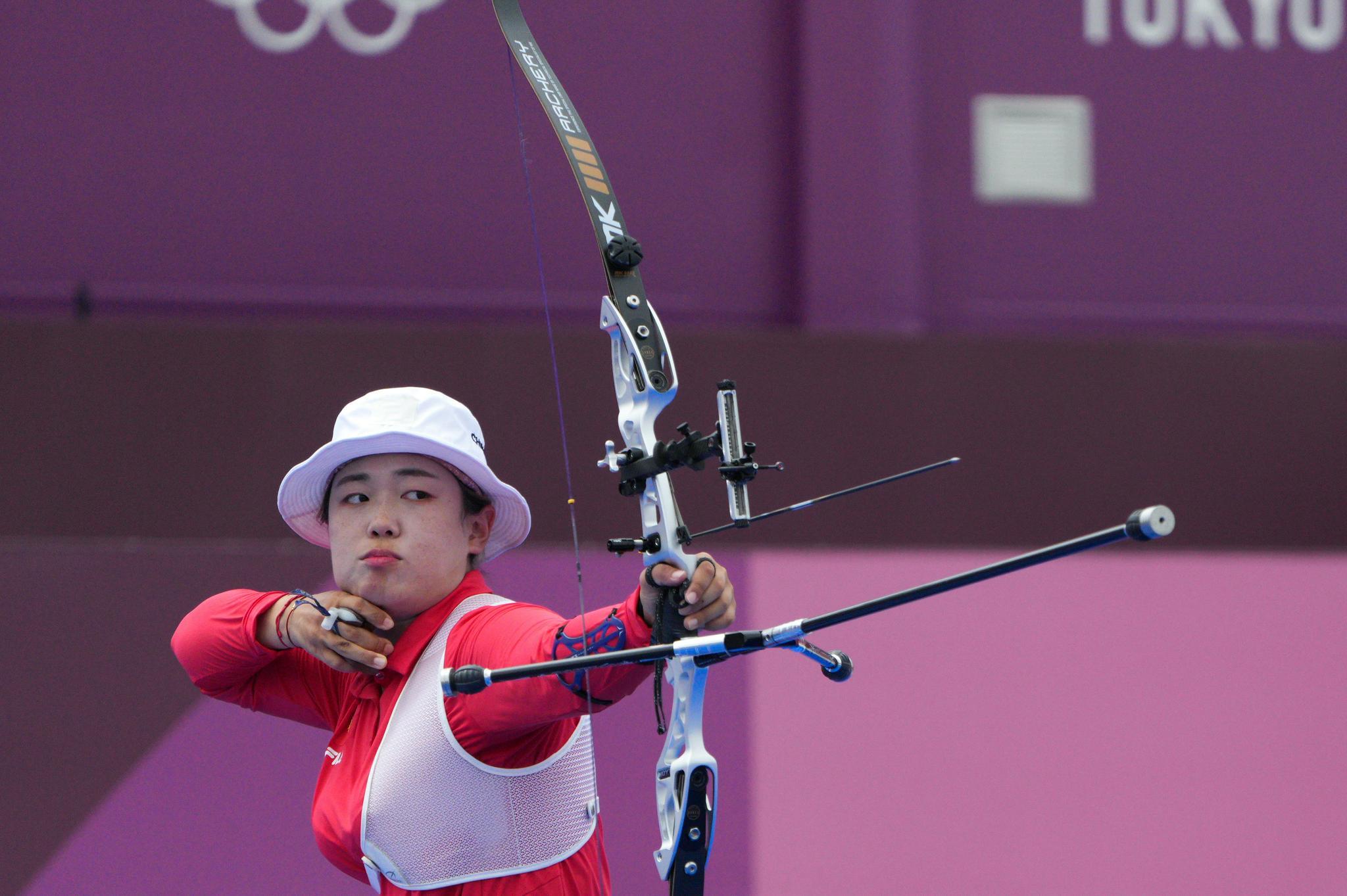 东京奥运会 射箭综合:吴佳欣止步女子个人八强 安山为韩国射落第四金