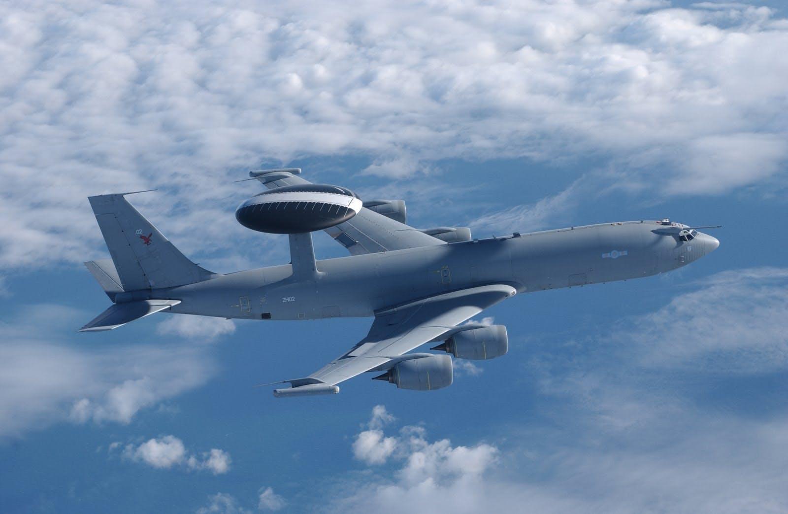 """最后一架E-3D年内退役,英国皇家空军进入预警机""""空白期"""""""