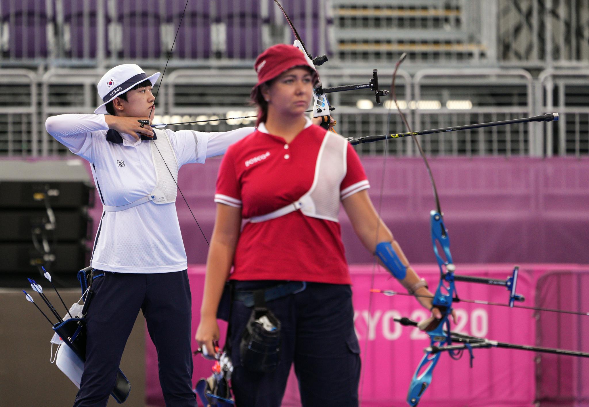 射箭——女子个人赛:韩国选手安山夺冠