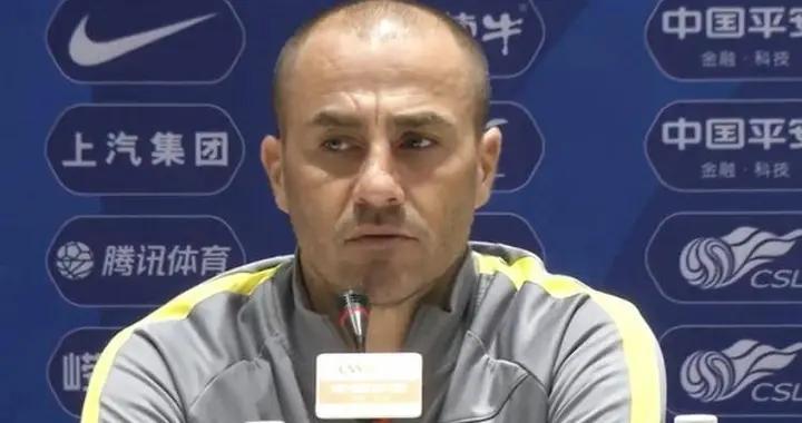 广州队主帅卡纳瓦罗:净比赛时间总是如此的短,刘殿座被费莱尼踢到隐私部位缝了十针