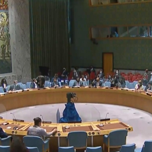 全球连线|中国常驻联合国代表团临时代办:安理会应酌情早日完全解除对中非制裁措施