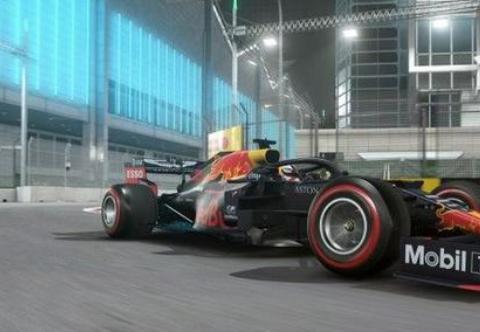 F1电子竞技虚拟大奖赛开始 中国车手周冠宇获得冠军